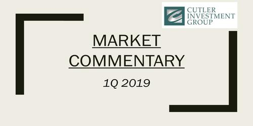 Market and Equity Income Commentary 1Q 2019